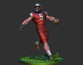 American football 3D print model