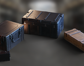 Military Crates Collection PBR 3D asset