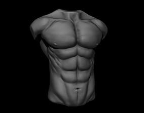Torso Sketch 3D printable model