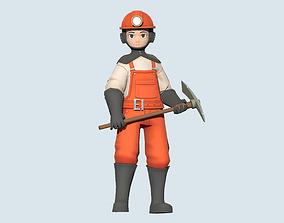 3D model Miner