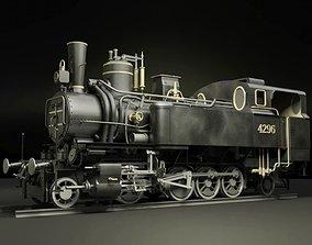MAV 40 Steam Locomotive Tank Engine 3D