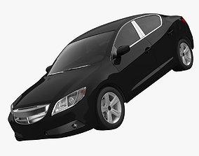 Sedan 1 3D model
