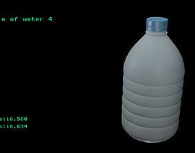 3D Bottle of water 4
