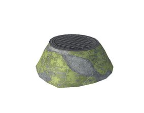 3D model Sewage well