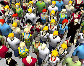animated 3D people avatars