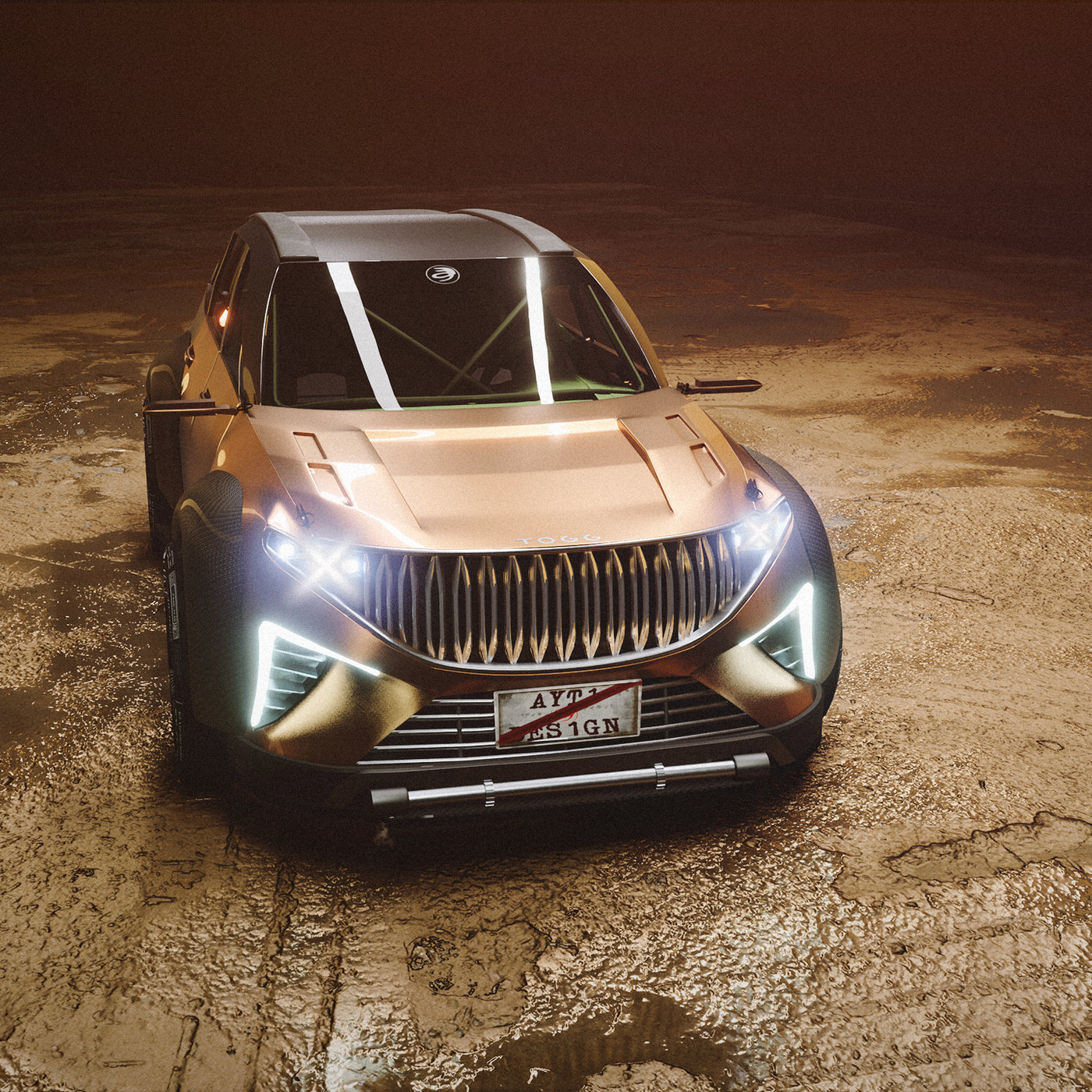 TOGG SUV OFF-ROAD STYLE