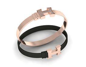 3D printable model hermes fashion bracelets