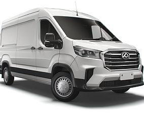 3D model Maxus Deliver 9 L3H2 2021