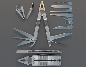 Multi Tool Rigged 3D