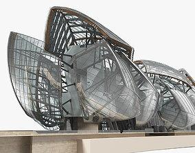 Louis Vuitton Foundation Building 3D model
