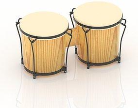 classic 3D Congo or Drum Model