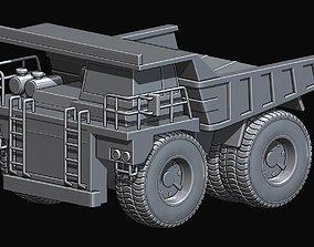 Mining Dump Truck Highly detailed 3D print model