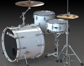 Sonor Drum Kit 3D