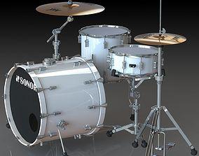 Sonor Drum Kit 3D