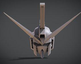 Gundam Infinitive Justice Head 3D print model