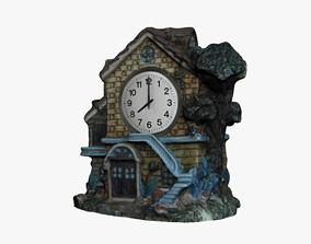Clock House 3D asset