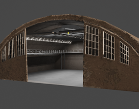 Hangar Interior 3D model
