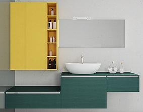 3D model Bathroom furniture set Arcom Escape 3