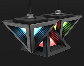 3D model Lamp Triangle
