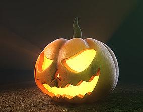 Jack o lantern-Pumpkin halloween 3D model