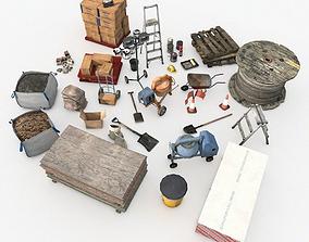 3D asset Construction Supply Pack