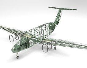 3D beechcraft king air b200 gt-structure
