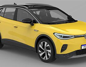 Volkswagen ID4 2021 3D automobile