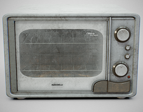 3D model Oven - Nardelli Calabria Dirty