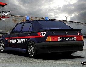 3D Alfa 75 Carabinieri std mat