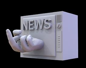 Brainwashing news 3D printable model