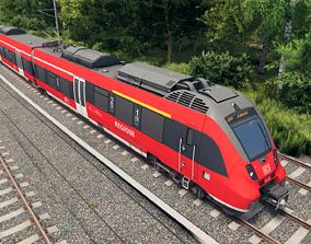 3D model Bombardier Talent 2 DB Regio