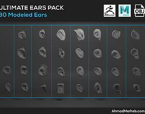 3D model Ears Assets