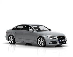 3D Audi A4 3dmodel