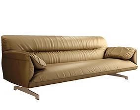 Poltrona Frau Italia Antohn sofa 3D