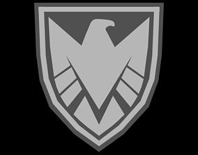 Marvels SHIELD Badge Version 2 3D model