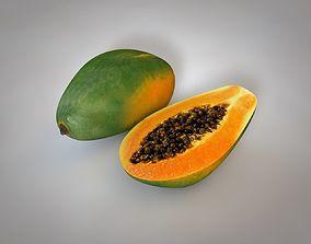 3D asset Papaya