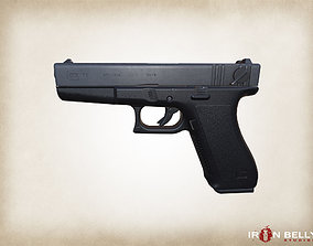 3D model AAA FPS G-18 Pistol