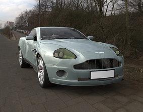 3D model Aston Martin DB7 Vanquish