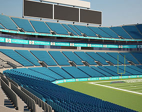 3D model Bank of America Stadium