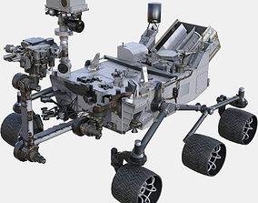 NASA Curiosity Rover 3D model low-poly