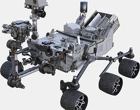 3D asset game-ready NASA Curiosity Rover