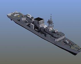 3D model Halifax Frigate