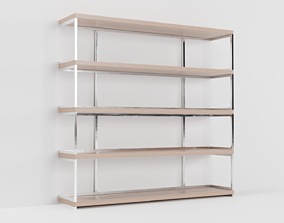 Wall Mounted Storage Shelves 3D model