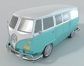 3D asset Volkswagen Combi