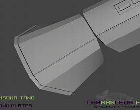 3D print model Ahsoka Tano Hand Plates The Mandalorian 1