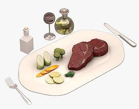 Beef 001 3D asset