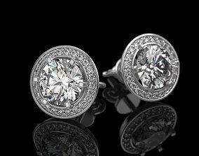 Earrings 3D print model jewelry jewellery