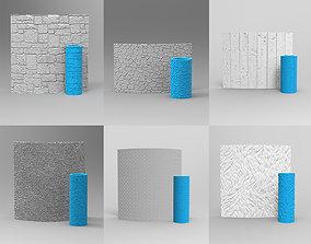 3D print model 6 SEAMLESS TEXTURE ROLLER