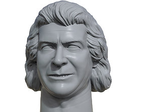 Ken Patera 3D printable portrait sculpture