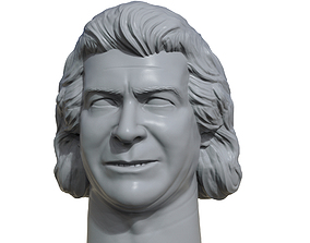 Ken Patera 3D printable portrait sculpture